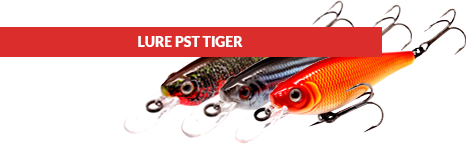 tiger fishing lures