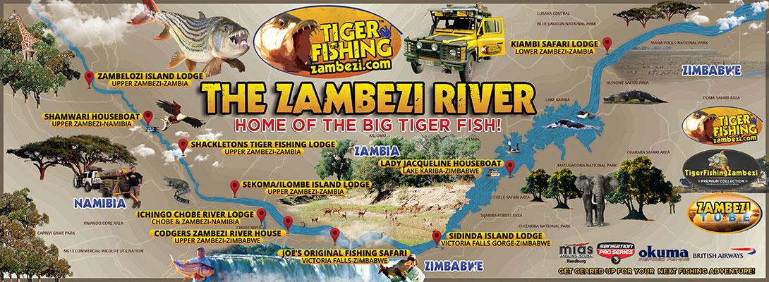 Tiger Fishng Zambezi cover