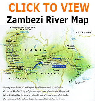 zambezi river map info